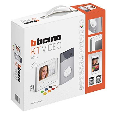 Immagine di Bticino 363911 Kit Vivavoce Monofamiliare, Bianco