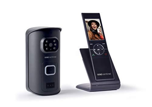 """Immagine di Videocitofono senza fili, schermo 2,4"""", portata 150 metri"""