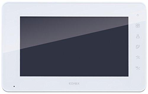 Immagine di Vimar K40912 Monitor Supplementare per Kit Videocitofonico con Alimentatore Multispina, Bianco