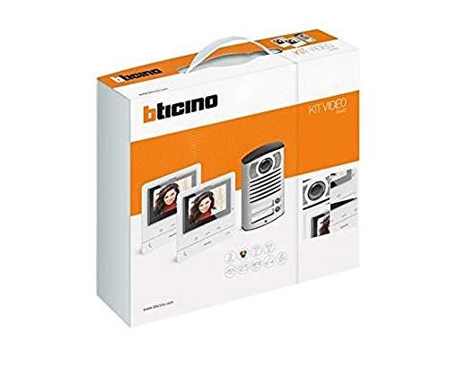 Immagine di Bticino Kit Video Classe 100 V16B Bifamigliare, Linea 2000