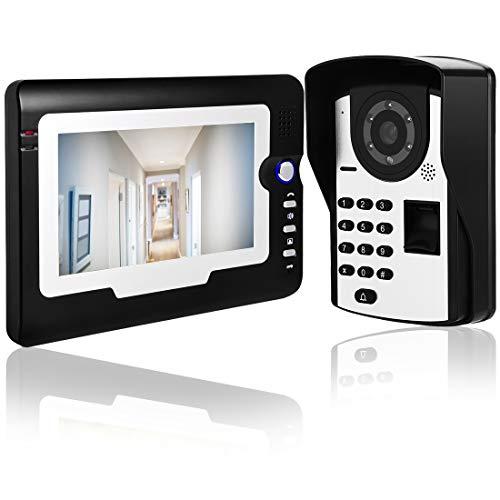Immagine di RFID - Videocitofono con cavo da 7 pollici, con videocitofono e citofono, 1.00V