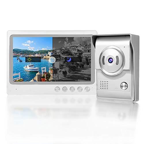 Immagine di Videocitofono Senza Fili, Campanello Video Wifi da 9 Pollici Supporto IP65 Impermeabile, Visione Notturna, Sistema di Registrazione con Registrazione di Foto 100-240 V(ME)