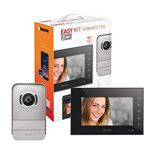 Immagine di Bticino 318015 Easy Kit Videocitofono Connesso monofamiliare, predisposto per bifamiliare