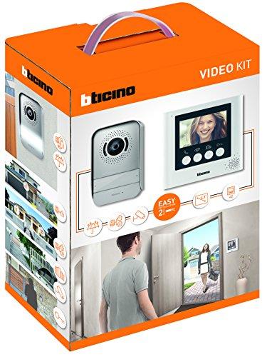 """Immagine di BTicino 316913 Kit Videocitofono 2 Fili, 4,3"""", Mono/Bifamiliare, Bianco"""