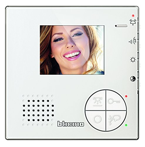 Immagine di BTicino 344502 Videocitofono 2 Fili Vivavoce a Colori, Bianco